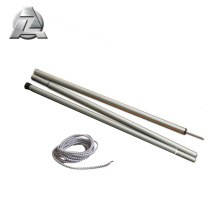 Anodizing folding carbon tent shock cord poles